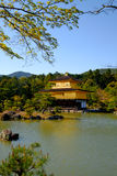 Kinkaku-ji, the Golden Pavilion, a Zen Buddhist temple in Kyoto, Stock Images