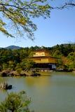 Kinkaku-ji, the Golden Pavilion, a Zen Buddhist temple in Kyoto, Stock Images