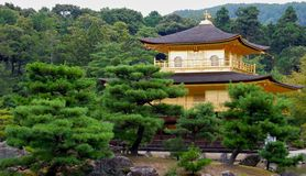 Kinkaku-ji Golden Temple Royalty Free Stock Photo