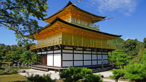 Kinkaku ji, golden temple in Kyoto Stock Images