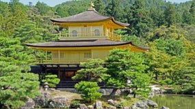 Kinkaku ji, golden temple in Kyoto Royalty Free Stock Photo