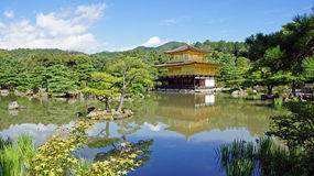 Kinkaku ji, golden temple in Kyoto Stock Image