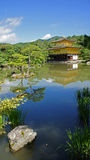 Kinkaku ji, golden temple in Kyoto Royalty Free Stock Photography