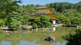 Kinkaku ji, golden temple in Kyoto Stock Photo