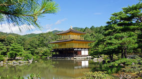 Kinkaku ji, golden temple in Kyoto Royalty Free Stock Image