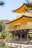 The Kinkaku-ji golden temple Royalty Free Stock Photography