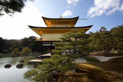 Kinkaku-ji Japão Foto de Stock Royalty Free