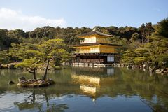 Kinkaku-ji Japan Stock Image