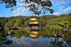 Kinkaku-ji Japan. Kinkaku or Golden Pavilion in Kyoto, Japan Stock Image