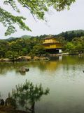 Kinkaku-ji Kinkakuji, Golden Pavilion is one of the temples in the Rokuon-ji complex the reindeer garden temple in the Keith r. Kinkakuji, Golden Pavilion is one Royalty Free Stock Photography