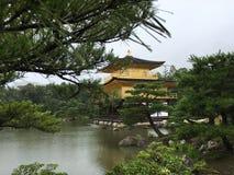 Kinkaku-ji, Kotyo, Giappone Fotografie Stock Libere da Diritti