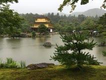 Kinkaku-ji, Kotyo, Japão Imagens de Stock Royalty Free