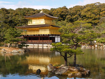 Kinkaku-ji in Kyoto Japan Stock Photo
