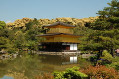 Kinkaku-ji, Kyoto, Japan. Kikakuji (Golden Pavilion) in Kyoto Stock Photography