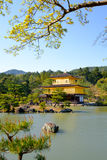 Kinkaku-JI, le pavillon d'or, un temple de Zen Buddhist à Kyoto, Photo stock