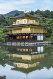 Kinkaku-ji temple Kyoto Japan. Kinkaku-ji, literally `Temple of the Golden Pavilion`, officially named Rokuon-ji, literally `Deer Garden Temple`, is a Zen Stock Photos