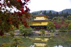 Kinkaku Ji, pabellón de oro Fotografía de archivo