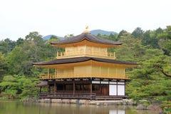 Kinkaku-ji or Rokuon-ji, a famous Zen Buddhist Temple, in Kyoto,. Japan Royalty Free Stock Images