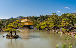 Kinkaku-Ji Tempel Stockbilder
