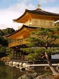 Kinkaku-ji Tempel in Kyoto Lizenzfreies Stockfoto