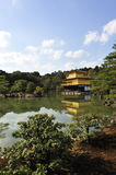 Kinkaku-Ji Temple. One of the famous travel destinations in Kyoto, Japan.  Also called the Golden Pavilion Stock Images