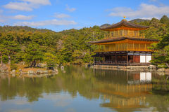 Kinkaku-ji, Temple of the Golden Pavilion Stock Image
