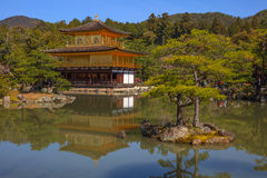 Kinkaku-ji, Temple of the Golden Pavilion Royalty Free Stock Photography