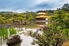 Kinkaku-ji Temple. & x28;The Golden Pavilion& x29; in Kyoto, Japan Stock Photo