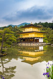 Kinkaku-ji Temple. & x28;The Golden Pavilion& x29; in Kyoto, Japan Royalty Free Stock Photography