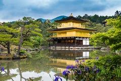 Kinkaku-ji Temple. & x28;The Golden Pavilion& x29; in Kyoto, Japan Royalty Free Stock Images