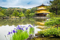 Kinkaku-ji Temple. & x28;The Golden Pavilion& x29; in Kyoto, Japan Stock Image