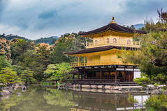Kinkaku-ji Temple. & x28;The Golden Pavilion& x29; in Kyoto, Japan Royalty Free Stock Images