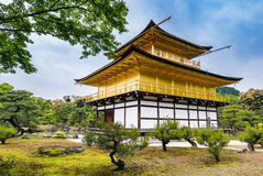 Kinkaku-ji Temple. & x28;The Golden Pavilion& x29; in Kyoto, Japan Royalty Free Stock Image