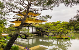 Kinkaku-ji Temple. & x28;The Golden Pavilion& x29; in Kyoto, Japan Stock Photos