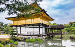 Kinkaku-ji Temple. & x28;The Golden Pavilion& x29; in Kyoto, Japan Stock Images