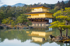 Kinkaku-ji temple, Japan. Royalty Free Stock Photo
