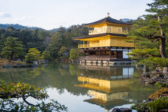 Kinkaku-ji temple, Japan. Royalty Free Stock Photography