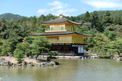 Kinkaku-ji. Temple in Kyoto Stock Photography