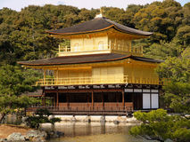 Kinkaku-ji temple in Kyoto Stock Image