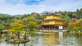 Kinkaku-ji Temple in Kyoto Royalty Free Stock Photography