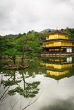 Kinkaku-Ji temple in Kyoto Royalty Free Stock Photo