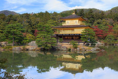 Kinkaku-ji Temple. In Kyoto, Japan Stock Image