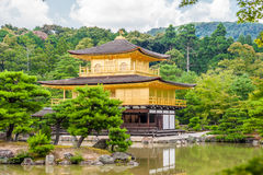 Kinkaku-ji Temple in Kyoto, Japan Royalty Free Stock Photos