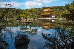 Kinkaku-ji Temple in Kyoto, Japan Stock Image