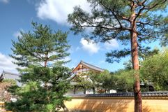 Kinkaku-ji Temple, Kyoto, Japan. Kinkaku-ji temple, the temple of the Golden pavillion, is one of Japan's most treasured temples. Its unique architecture, gold Stock Photography