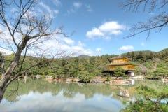 Kinkaku-ji Temple, Kyoto, Japan. Kinkaku-ji temple, the temple of the Golden pavillion, is one of Japan's most treasured temples. Its unique architecture, gold Royalty Free Stock Photography
