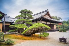 Kinkaku-ji temple stock photo