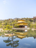 The Kinkaku-ji temple in Kyoto, Japan Stock Photo