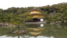 Kinkaku-ji Temple. It is the oldest temple of Kyoto. Originally a vacation home. The statesman named Sionji Kitsune until, in 1397, Shogun Ashigawa Yoshimitsu Royalty Free Stock Photos