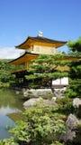 Kinkaku ji, złota świątynia w Kyoto Obrazy Royalty Free